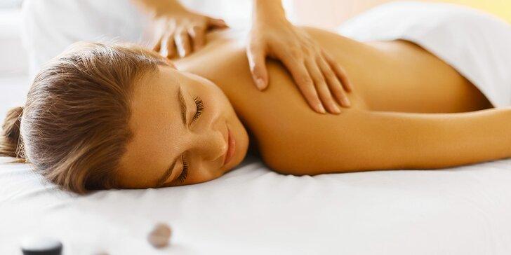 90 minut relaxace s masáží - na výběr 3 varianty