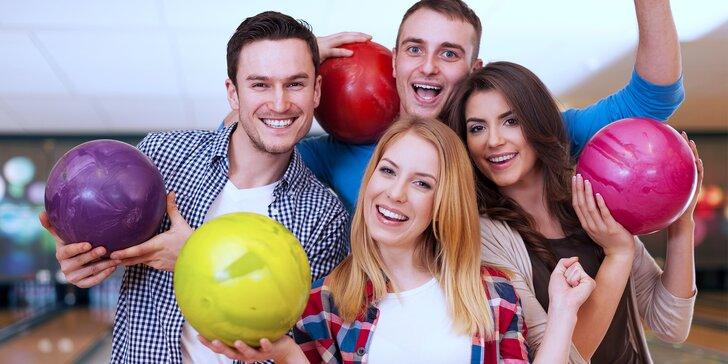 Všechny kuželky k zemi: Hodina bowlingu až pro 6 osob