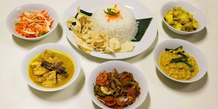 Degustační menu pro dva v jediné srílanské restauraci v Praze