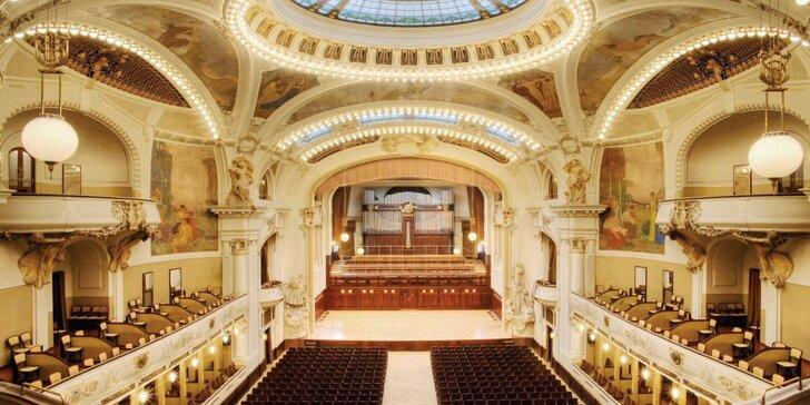 Silvestrovský galakoncert s Carmen a Novosvětskou v Obecním domě