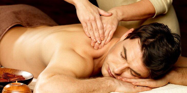Tradiční čínská masáž krční a hrudní páteře s akupresurou - počítačový syndrom