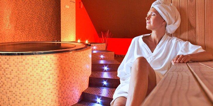 Božská relaxace pro vaše blízké: 2 hodiny v privátním wellness až pro 4 osoby