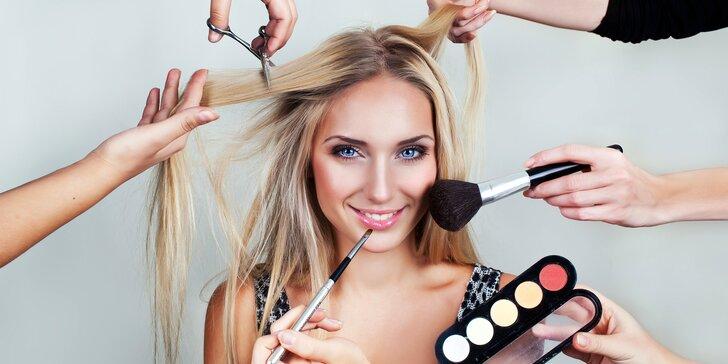 Den pro Pretty woman: Perfektní make-up, sestřih, manikúra i relaxační masáž