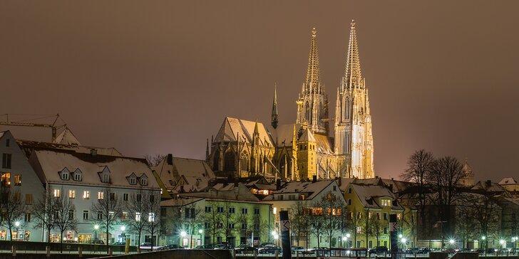 Nejkrásnější adventní města Bavorska: Regensburg a Amberg s relaxací v lázních