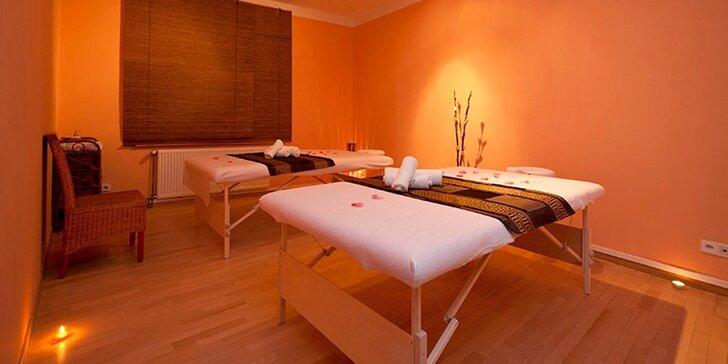 90 minut relaxace - výběr ze 3 luxusních thajských masáží
