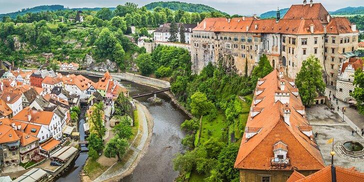 Romantika v centru Českého Krumlova: Skvělé jídlo a kulturní zážitky