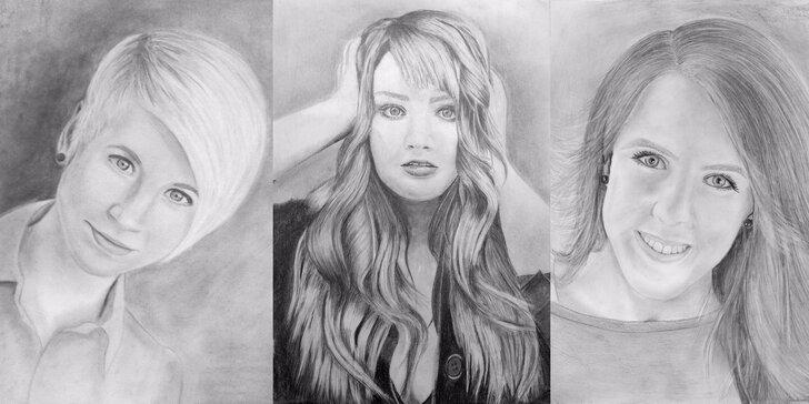 Radost z portrétu za 2 dny: kurz kreslení pravou mozkovou hemisférou