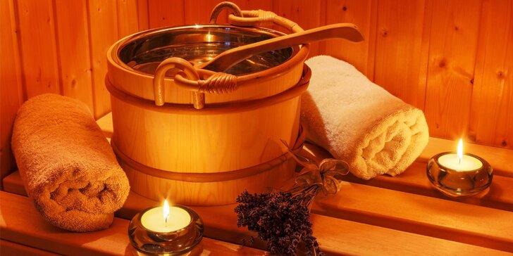 Odpolední relaxace: 90 minut privátního saunování pro 2 osoby