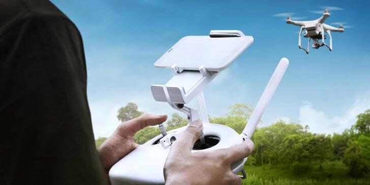 Natáčejte své zážitky jako profíci: Pronájem dronu na tři hodiny nebo na celý den