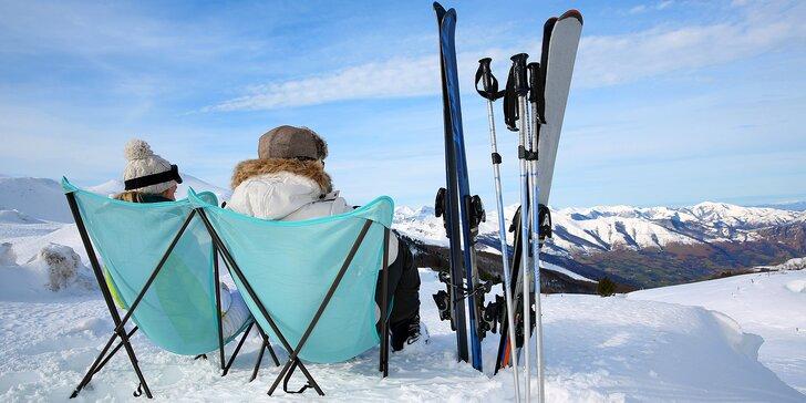 Zima na Lipně v penzionu N.10: Snídaně, lahev prosecca a karta výhod