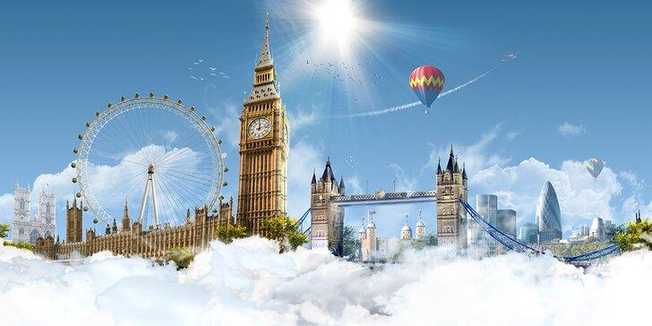 4denní letecký zájezd za krásami Londýna s bohatým programem a průvodcem