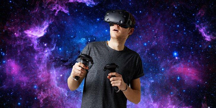 Netradiční zážitek: Až 180 minut nejmodernější virtuální reality HTC Vive v Brně