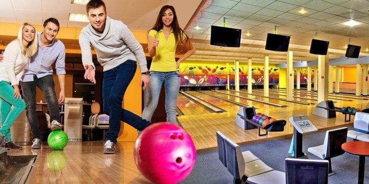 Bowling na 60 minut ve Sportcentru Duo až pro 6 hráčů