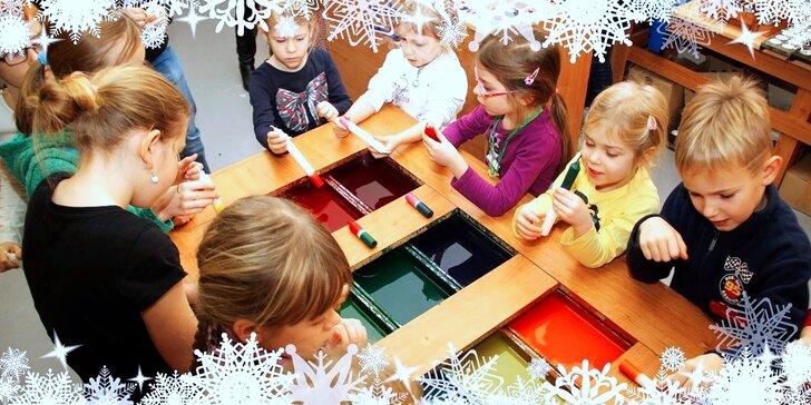 Adventní tvoření: Výroba svíček, vánočních ozdob a voňavých sáčků