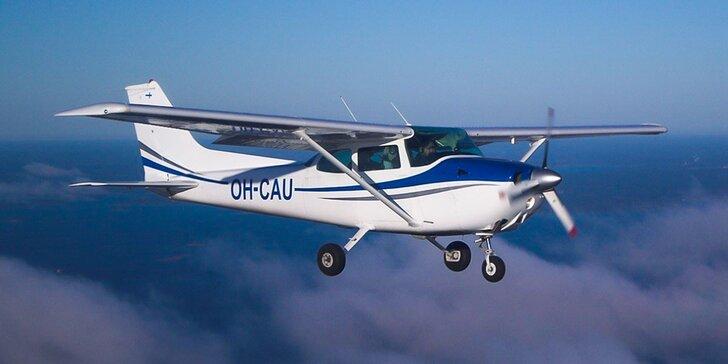 Nepopsatelný zážitek z létání: Pilotem na zkoušku ve Strážnici na Moravě
