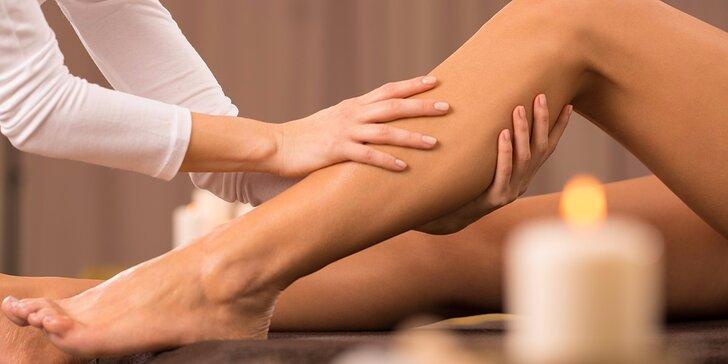 2hodinový relax - Lymfatická masáž se zábalem v Salonu Anička