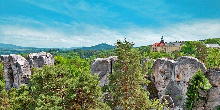 3 - 6 dní odpočinku i výletů v malebném Českém ráji s polopenzí