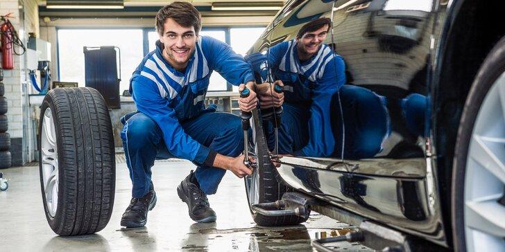 Nečekejte, až to začne klouzat: Kompletní přezutí pneumatik vašeho vozu