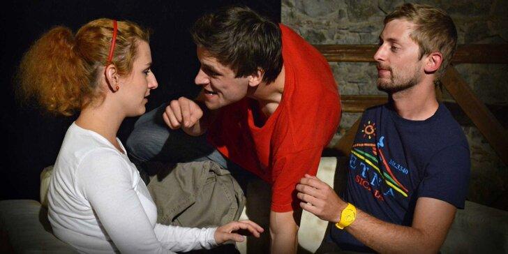 Dvě vstupenky na divadelní komedii Ani o den dýl! v Branickém divadle