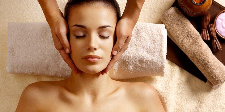 Indická masáž hlavy s relaxační masáží zad a aromaterapií