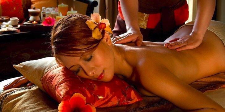 Božské uvolnění svalů i mysli: Thajské, relaxační i hydratační masáže