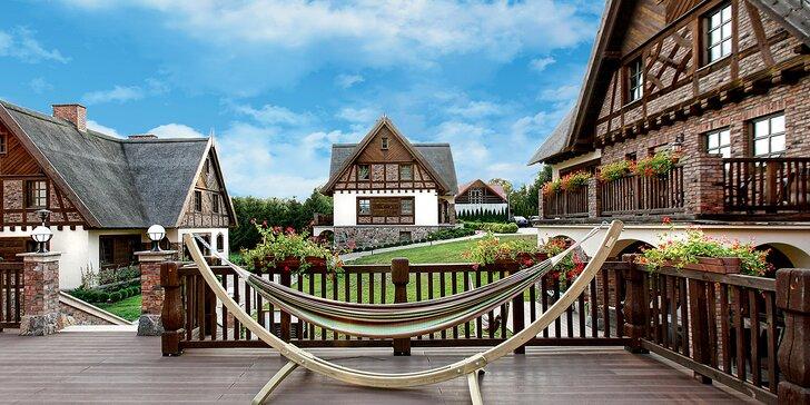 Romantický či rodinný pobyt v Polsku: Luxusní resort s wellness a super polopenzí