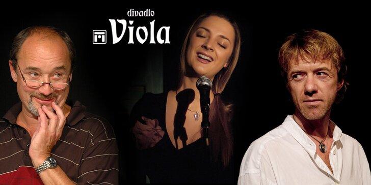 Vánoční předplatné do divadla Viola – 4 vstupenky na vybraná představení