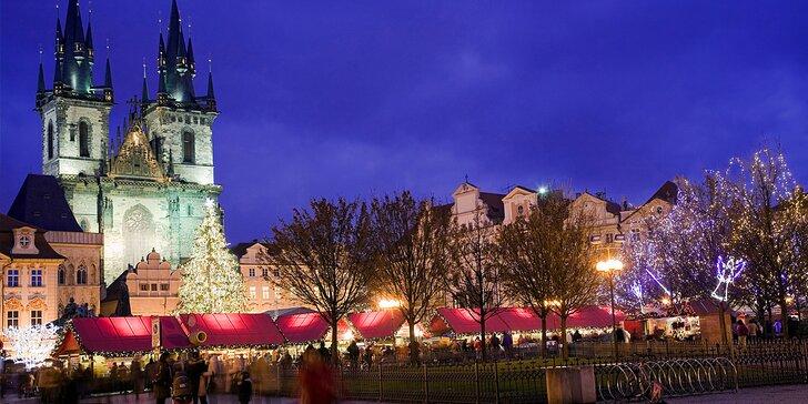 Zima či jarní romantika v centru Prahy s bohatou snídaní