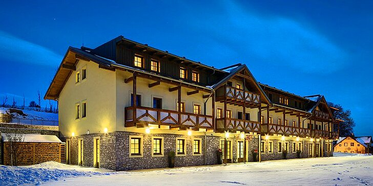 Zima na Lipně pro dva: Krásný 4* hotel, kvalitní jídlo i spousta aktivit