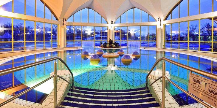 Maďarský wellness hotel s polopenzí a neomezeným vstupem do vodního světa