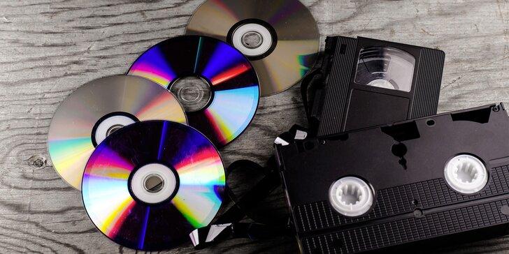 Vzpomínky v bezpečí: Převod videí ze starších nosičů na DVD