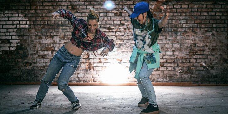 1, 5 nebo 10 tanečních lekcí dle výběru: Hip hop, twerk i balet pro děti