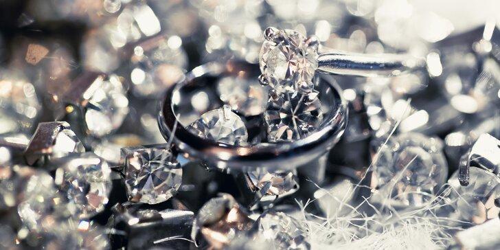 Dárkový voucher na vstup do muzea diamantů i nákup šperků
