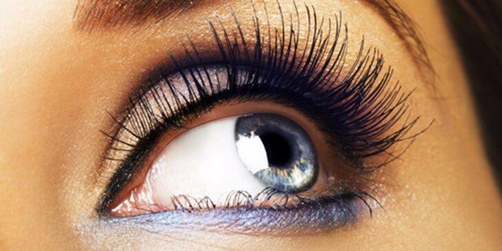 Prodloužení řas metodou Blink lashes nebo 3D