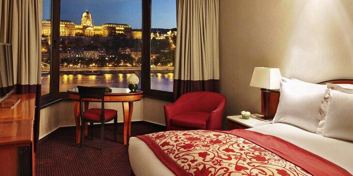 Objevte Budapešť: 4 dny se snídaní, wellness a plavbou po Dunaji pro 2