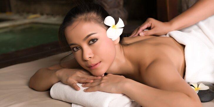 Výběr thajských masáží ve vyhlášeném tradičním studiu Thai Sun