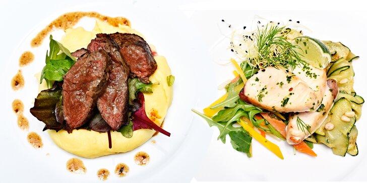 Zimní hody v Gourmet Pauze: Degustační menu o 5 skvostných chodech pro dva