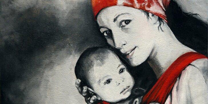 Udělejte radost svým blízkým portrétem na zakázku