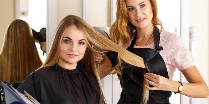 Kompletní péče pro všechny délky vlasů v salonu Zlatovláska