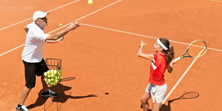 Tréninky tenisu s trenérem v Tenisovém centru Chodov