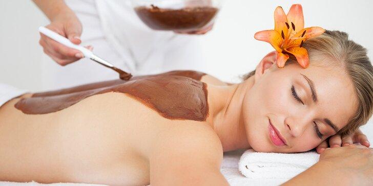 Kokosová, čokoládová nebo kávová masáž pro celkovou pohodu