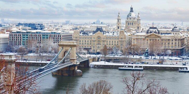 Wellness hotel v Budapešti: 3–4 dny se snídaní a neomezenou relaxací pro 2