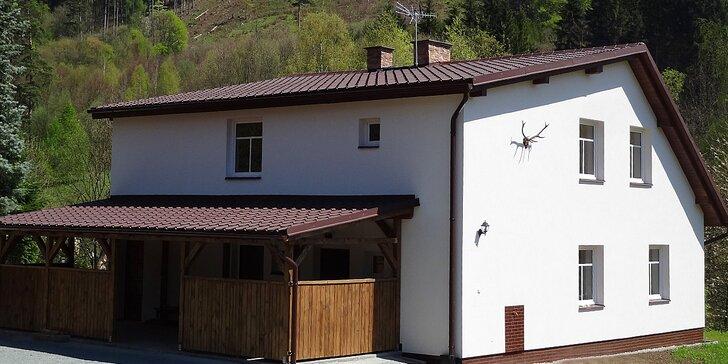 Dovolená v apartmánu v Adršpašsko-teplických skalách pro dva i rodinu