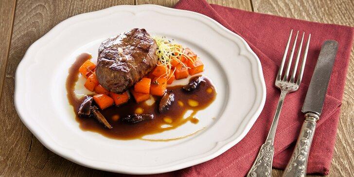 Gastronomický klenot: Výtečné menu pro dva v hotelu President