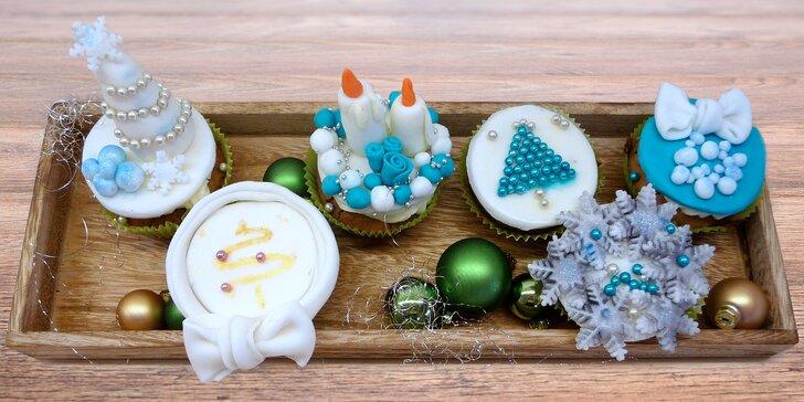 Nadýchané vánoční cupcaky v klasické i bezlepkové variantě