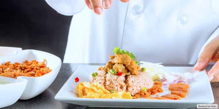 Seznamte se s thajskou kuchyní - příprava 5chodového menu v Café Buddha