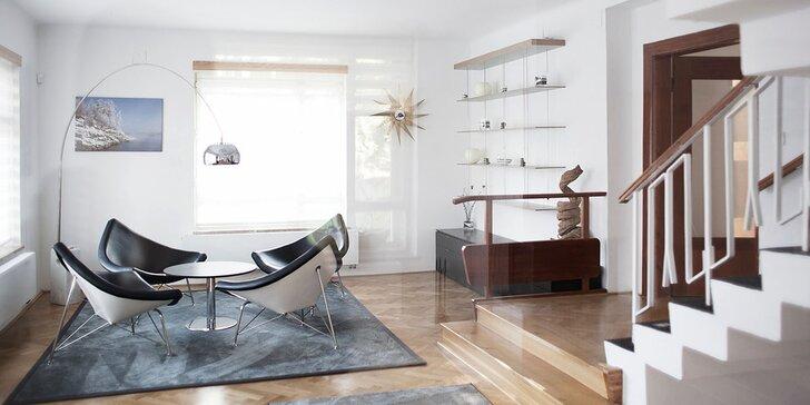 Pohádkový pobyt na Orlíku v luxusní vile až pro 12 osob + neomezené wellness