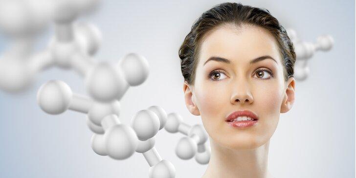Odstranění středně mimických vrásek kolem očí, úst a na čele