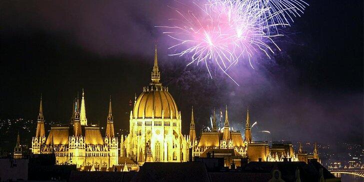 Přivítejte Nový rok v metropoli Budapešť: 1x ubytování se snídaní