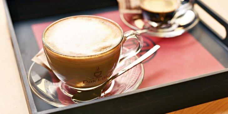 Siesta v Tonkin Café - vietnamská káva s dortem pro 1 nebo 2 osoby